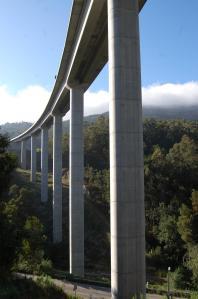 viaduto corredor rio da Fraga