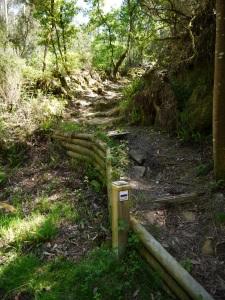 sendeiro río da Fraga