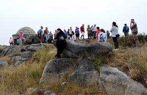 alto do Facho de Donón-roteiro pola protección dos Montes do Hio