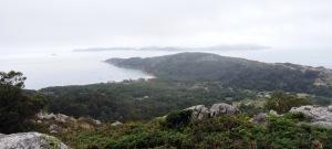 panorámica desde o alto de Outeiro Batente