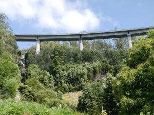 viaduto sobre o rego Miñouva (o segundo viaduto vai cara ao norte perto da fervenza)
