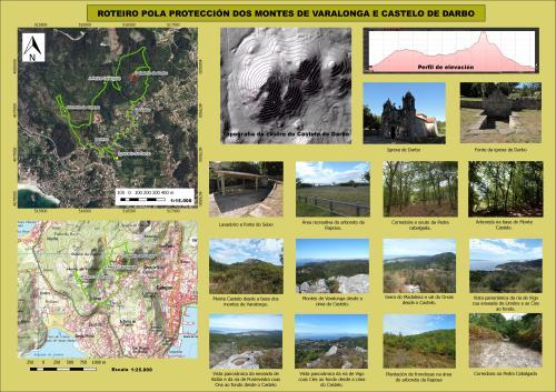 Montes de Varalonga e Castelo de Darbo