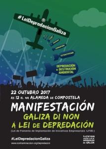 Cartel Manifestación 50x70
