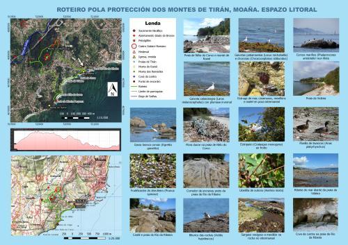 Montes de Tirán, espazo litoral