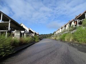 Urbanización inacabada